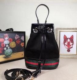 Stylish Wool Dress Australia - 550621 20.5cm Stylish black bucket bag WOMEN HANDBAGS ICONIC BAGS TOP HANDLES SHOULDER BAGS TOTES CROSS BODY BAG CLUTCHES EVENING