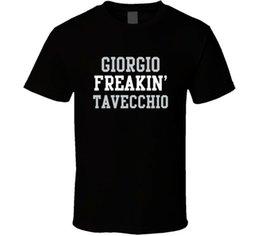 Free Cooling Fan Australia - Giorgio Freakin' Tavecchio Oakland Football Player Cool Fan T Shirt Funny free shipping Unisex Casual Tshirt
