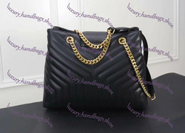 Patent leather totes online shopping - Fashion Brand Designer Women Handbag Genuine Leather OL Shoulder Bags Top Handle saffiano Bag high quality Lady Messenger Bag