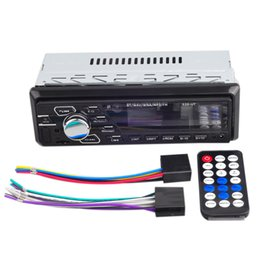 Iso radIo online shopping - 24v Car Bluetooth Player Stereo Aux Iso Interface Mp3 Fm Usb Radio Mp3 Player Ut