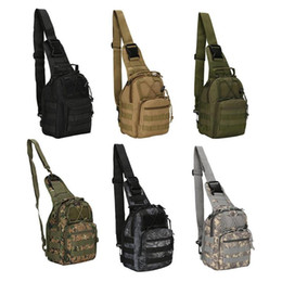 New Camping Backpacks Australia - New Style 5L 600D Outdoor Bag Military Tactical Bags Backpack Shoulder Camping Hiking Bag Camouflage Hunting Backpack Utility #108966