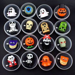 $enCountryForm.capitalKeyWord Australia - Kids Capsule Toys Wind Up Toys Clockwork Toys Pumpkin Skull Ghost Vampire Zombie Mummy Halloween Party Supplies Gifts for Children