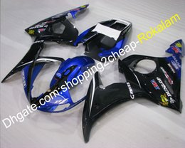Plastic Motorcycle Fairings Australia - YZF R6 2003 2004 ABS Plastic Cowling Fittings For Yamaha YZF-R6 03 04 YZFR6 YZF600 Motorcycle Body Fairing (Injection molding)