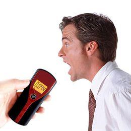 Digital lcD alcohol breath analyzer online shopping - Professional Pocket Digital Alcohol Breath Tester Analyzer Breathalyzer Detector Test Testing LCD Display Hot