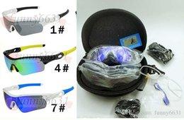 Marka tasarım ADAM Polarize TR90 ÇERÇEVE Rüzgar gözlük + SERT VAKA Kadın Açık Spor Bisiklet Gözlük sürüş cam 9 Renkler 5 LENS ÜCRETSIZ NAKLIYE