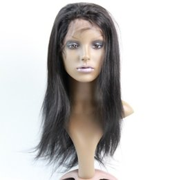 lace delivery wigs Australia - lace front wigs 13x4 frontal lace wigs silk straight brazilian human hair pre plucked hairline ups delivery