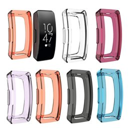 $enCountryForm.capitalKeyWord Australia - Replacement Silicone TPU Skin Protective Case Cover For Fitbit Inspire Inspire HR Case Watch Band Sporting Goods Accessories