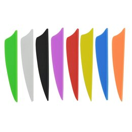 $enCountryForm.capitalKeyWord Australia - Archery 2.5 inch Multicolor Fletching Feather Shield Shape Carbon Aluminum Arrow Shaft Competition Target Practice Accessories Free Cut