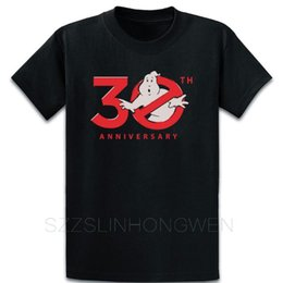 Wholesale crazy shirts resale online - 30th Anniversary Ghostbuster T Shirt Personalized Over Size S XL Crazy Summer Style Building Unique Standard Tee Shirt