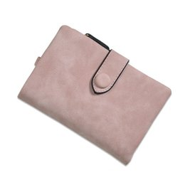 Wholesale Slymaoyi Fashion Women Wallet Female Nubuck Leather Hasp Wallet Women s Short Design Coin Purse Holders Retro Wallet and Purses