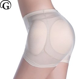 Wholesale sexy panties padding for sale – plus size PRAYGER Sexy Women Pads Enhancers Shapers Slimming Body Lift Butt Panties Removable Inserts Sponge Padded Underwear set