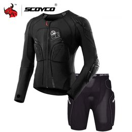 Scoyco Racing Gear Australia - COYCO Protective Gear Motocross Protection Moto Jacket Motorcycle Racing Body Armor Black Moto Armor SCOYCO Motorcycle Jacket Protecti...