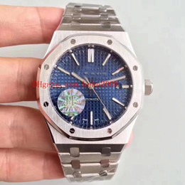 Luxury Watches Swiss Movement Australia - 3 Style Luxury Best Quality J Factory V3 41mm Offshore 15400 15400ST.OO.1220ST.01 02 03 Swiss CAL.3120 Movement Automatic Mens Watch Watches