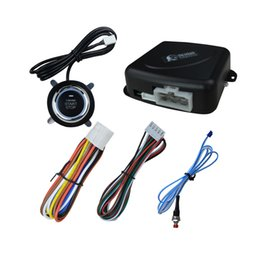 car starting system Canada - CARCHET Auto car One start stop engine system with remote control Car start stop button for 12V SUV RFID lock Anti-theft System