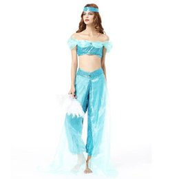 $enCountryForm.capitalKeyWord UK - Sexy Arabic Costume Dance Costume Women Backless India Halloween Costumes For Women Adult Sexy Carnival Costumes Womens Suit