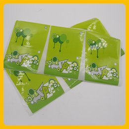 $enCountryForm.capitalKeyWord NZ - Custom green promotion logo label printing color sheet adhesive sticker durable trademark sticker on package for foreign sales