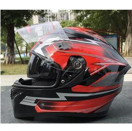 Full Carbon Fiber Motorcycle Helmet Australia - The latest MAIUSHUN motorcycle helmet SNR racing cross - country bifocals full helmet winter thermal safety helmet