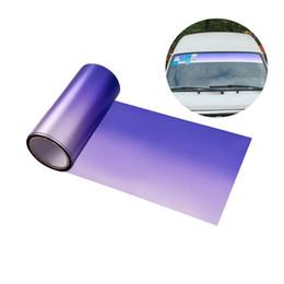 $enCountryForm.capitalKeyWord Australia - Exterior Accessories Window Foils Solar AUMOAHLL Front Windshield Solar Protection Gradient Purple Car Window Foils UV Protection