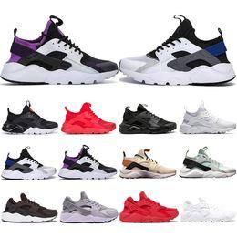 BaseBalls men fashion online shopping - Top Fashion Huarache Running Shoes Men Women Khaki Mint Green Balck White Red Mens Sports Athletic Designer Sneakers Trainers