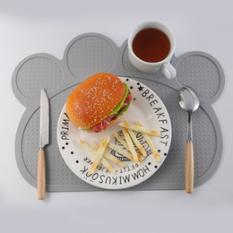 silicone mats wholesale NZ - Silicone Placemat Plate Mat Dining Table Decortion Heat Insulation Resistant Mat Pad Coaster Placemat Kitchen Tools