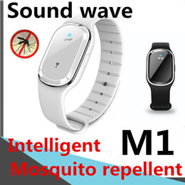 free mosquito wristbands UK - Smart bracelet Ultrasonic Mosquito Repellent Summer Sound and Frequecy Stop mosquito bites Free from mosquito harassment M1 Smart Wristbands