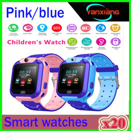 child locator watch tracker Australia - 2019 New Smart watch LBS Kid SmartWatches Baby Watch for Children SOS Call Location Finder Locator Tracker Anti Lost Monitor+Box ZY-SB-Q