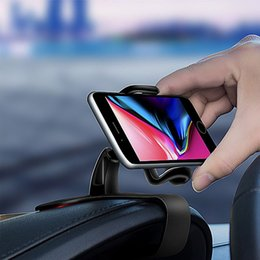 cell phones car accessories 2019 - Adjustable Car Dashboard Phone Holder Universal Gift Cell Phone Mount Stand Easy Clip GPS Display Bracket Accessories ch