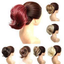Hair buns band online shopping - Top Hair Chignon g Synthetic Donut Hair Bun Pad Popular High Side Bun Trendiest Updos for Medium Length Hair