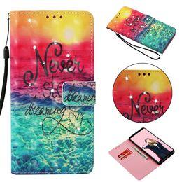 Iphone 3d Skull Australia - Wallet Case For Xiaomi F1 Redmi S2 Y2 6 Pro Note 5 Pro 5 Plus 4X 5A Flower Sea Ocean Bling Diamond 3D Leather Skull Sunrise Cute Flip Cover