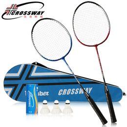 $enCountryForm.capitalKeyWord Australia - 2 Player Badminton Racket Replacement Set Badminton Racquet Ultra Light Racket with Bag And Three Balls