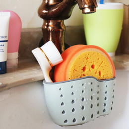 $enCountryForm.capitalKeyWord Australia - Useful Suction Cup Sink Shelf Soap Sponge Drain Rack Kitchen Sucker Storage Tool Sink Holder Kitchen Accessory vaciar