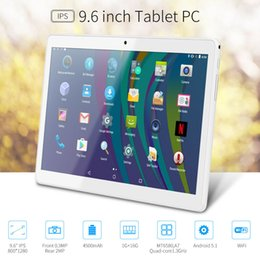 9.6'' Tablet PC WiFi + 3G 2G Quad Core 16G Android 5.1 Dual SIM Factory Unlocked on Sale