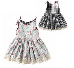 Girl Wears Shirts Australia - Baby Girl clothes Dress Children's Wear New Lovely Bowknot On Both Sides of The Girls Wear Skirts kids designer clothes girls