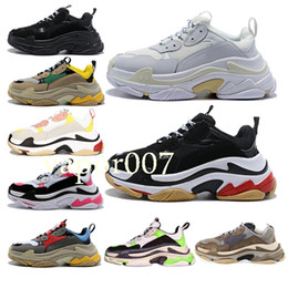 China hot best Luxury Designer fashion Men Wave Runner Women triple s men chaussures scarpe zapatos mens femmes Speed Trainer shoes sneakers cheap speed s suppliers