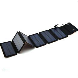 venda por atacado 9W Mono Carregador de Painéis Solares Portátil Banco De Energia Solar Ao Ar Livre De Emergência 5 V / 2A Carregador De Energia para o Telefone Móvel Comprimidos
