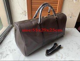 $enCountryForm.capitalKeyWord UK - Top quality mens designer travel luggage bag men totes keepall leather handbag duffle bag Sac 2019 brand fashion luxury designer bags 857