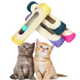 $enCountryForm.capitalKeyWord Australia - Rolling Tunnel Funny Play Pipe With Balls Training Scratching Toys Track Play Tunnel Cat Scratcher Cat Toys Balls Pet Supplies