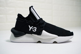 Discount y3 shoes casual - 2019 Y-3 Kaiwa Chunky Mens Casual Shoes Luxurious Fashion Yellow Black Red White Y3 Boots Sneakers With Box 13