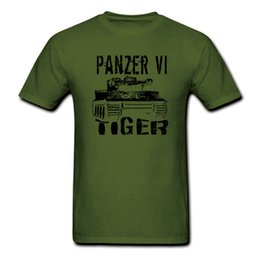 Tiger Tank T Shirts Australia - Tiger Tank Panzer VI T shirt Men WWII WW2 German gift tee USA size S-3XL Men Women Unisex Fashion tshirt Free Shipping