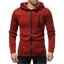 Cool Sweatshirt Jackets Canada - Brand New Hoodie Men Zipper Sweatshirt Male Hoody Hip Hop Autumn Winter Cool Slim Jacket Costume Coat Big Size