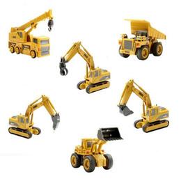 Green Truck Cars Australia - 1:64 Mini Rc Constrction Truck Car Tractor Trattore Excavator Bulldozer Crane Model Remote Control Toys Gift for Children