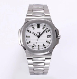 Wholesale Items Sold Australia - silver case and band white dial hot selling item classic design men automatic watch made of 316L stainless steel sapphire glass best quality