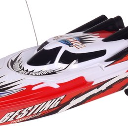 gear types Australia - New Radio Remote Control Dual Motor Speed Boat RC Racing Boat High-speed Strong Power System Fluid Type Design