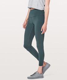 LU-Women Yoga Outfits Ladies Sports Full Leggings Ladies Pants Exercise & Fitness Wear Girls Running Leggings on Sale