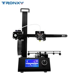 Aluminium beds online shopping - 2019 Upgraded version Tronxy X2 D Printer Whole Aluminium and matel with Heat bed print ABS PLA Filament