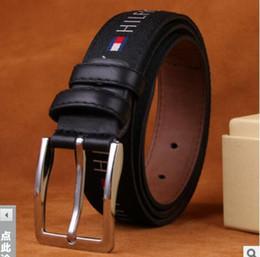 Venda de novos homens das mulheres faixa preta cinto de couro genuíno cintos de Negócios pure color belt padrão de cobra fivela cinto para presente em Promoção