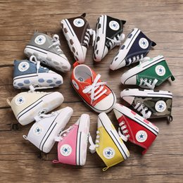 $enCountryForm.capitalKeyWord Australia - 2019 Baby shoes wild multi-color casual baby cute canvas shoes 0-1 years old baby comfortable toddler shoes