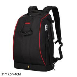 $enCountryForm.capitalKeyWord UK - Waterproof DSLR Camera Backpack Shoulder Storage Zipper Bag with Rain Black Cover