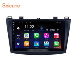 China 8-core 9 inch Touch Screen Android 8.1 GPS Navi Car Stereo for 2009 2010 2011 2012 MAZDA 3 with WIFI USB support Rearview Camera Mirror Link suppliers