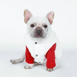 hair vests Australia - Winter Pet Dog Vest Jacket Clothing For Dog Clothes Windproof Coat for Small Medium Large Dogs Costume French Bulldog Chihuahua